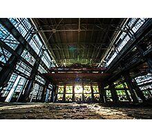 Rail Yards Photographic Print