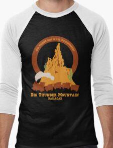 Big Thunder Mountain Railroad Men's Baseball ¾ T-Shirt