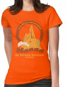 Big Thunder Mountain Railroad Womens Fitted T-Shirt