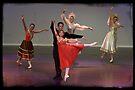 4 Princesses of the Swan Lake by Alfredo Estrella