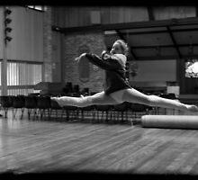 Synchronized Leaps by Alfredo Estrella