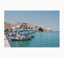 Skopelos harbour, Greece Kids Clothes