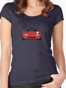 Miata ;) Women's Fitted Scoop T-Shirt