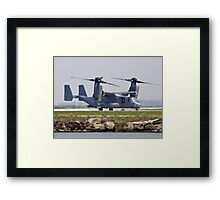 Side view of the V-22 Osprey Framed Print