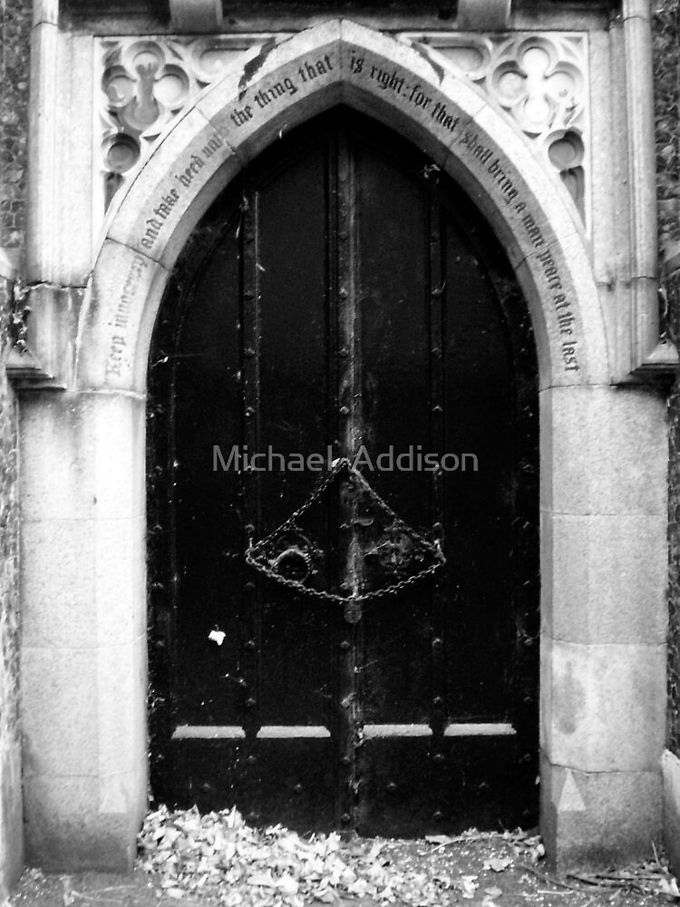 The Chained Doorway by Michael  Addison