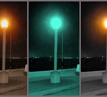 """Lamp on North Harbor Drive"" by Tim&Paria Sauls"