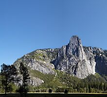 Sentinel Rock,Yosemite, Sierra Nevada, USA. by Jonathan Maddock