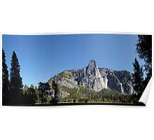 Sentinel Rock,Yosemite, Sierra Nevada, USA. Poster