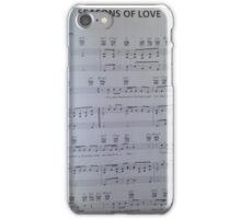 Rent music sheet iPhone Case/Skin