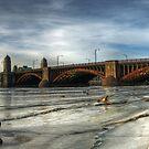 Longfellow Bridge by d1373l