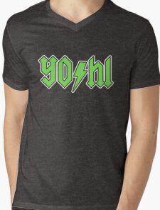 YO/HI (c) Mens V-Neck T-Shirt