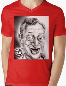 Rodney Dangerfield Caricature Mens V-Neck T-Shirt
