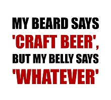 Craft Beer Whatever by AmazingMart