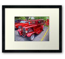1936 Model A  Ford Hot-Rod Framed Print