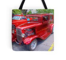 1936 Model A  Ford Hot-Rod Tote Bag