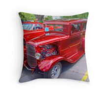 1936 Model A  Ford Hot-Rod Throw Pillow