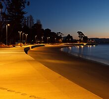 Long Beach, Sandy Bay, Tasmania #3 by Chris Cobern