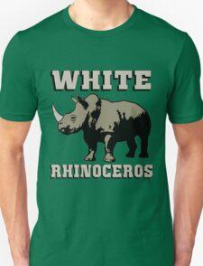 White rhinoceros Unisex T-Shirt
