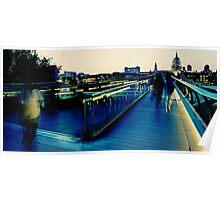 Millennium Bridge - London Poster