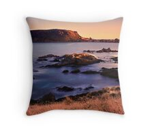 Three Little Coves Throw Pillow