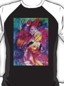 MASQUERADE NIGHT Carnival Musician in Pink Costume T-Shirt