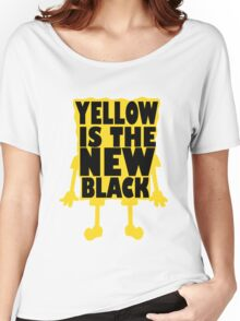 Yellow is the New Black (ver 2) Women's Relaxed Fit T-Shirt