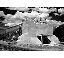 Adobe Church Photographic Print
