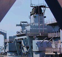 USS WISCONSIN by ANNABEL   S. ALENTON