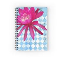Hot Pink Tropical Flower Spiral Notebook