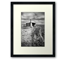 Bowhill House Ruin, South Australia Framed Print
