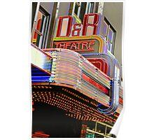 D&R Theatre Poster