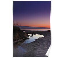 Nordhouse Dunes at Sunset Poster