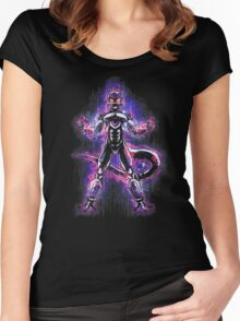 Lord Frieza Epic Evil Portrait Women's Fitted Scoop T-Shirt