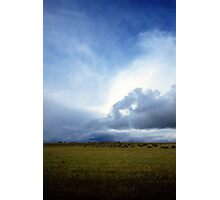 Coming Rain, Mallee 2 Photographic Print