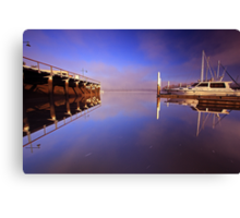 """From the Pontoon"" Canvas Print"