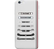 VW Golf stripes iPhone Case/Skin