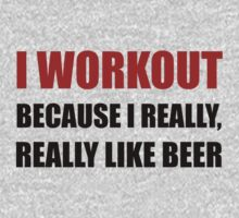 Workout Beer Kids Clothes