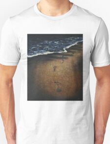 lonely walk with broken heart T-Shirt