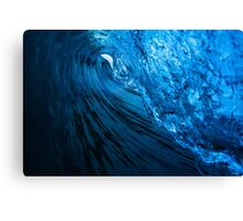 Blue Little Tube Canvas Print