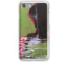 BLACK FACE iPhone Case/Skin
