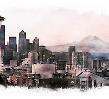 Seattle by CPAULFELL