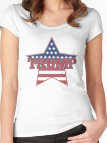 Trump for President - Presidential Election 2016 - Donald Trump for President - Donald for America Women's Fitted Scoop T-Shirt