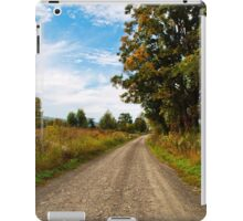 Old Country Road Landscape iPad Case/Skin