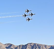 USAF Thunderbirds by Henry Plumley