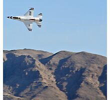 USAF Thunderbirds Solo Photographic Print