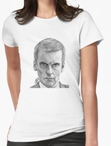 Malcolm F Tucker Womens Fitted T-Shirt