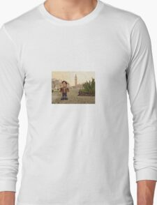 Dr Who at Big Ben Long Sleeve T-Shirt