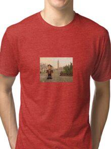 Dr Who at Big Ben Tri-blend T-Shirt