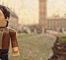 Dr Who at Big Ben Sticker