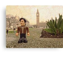 Dr Who at Big Ben Canvas Print